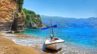 Пляж Могрен Будва 2021 Черногория