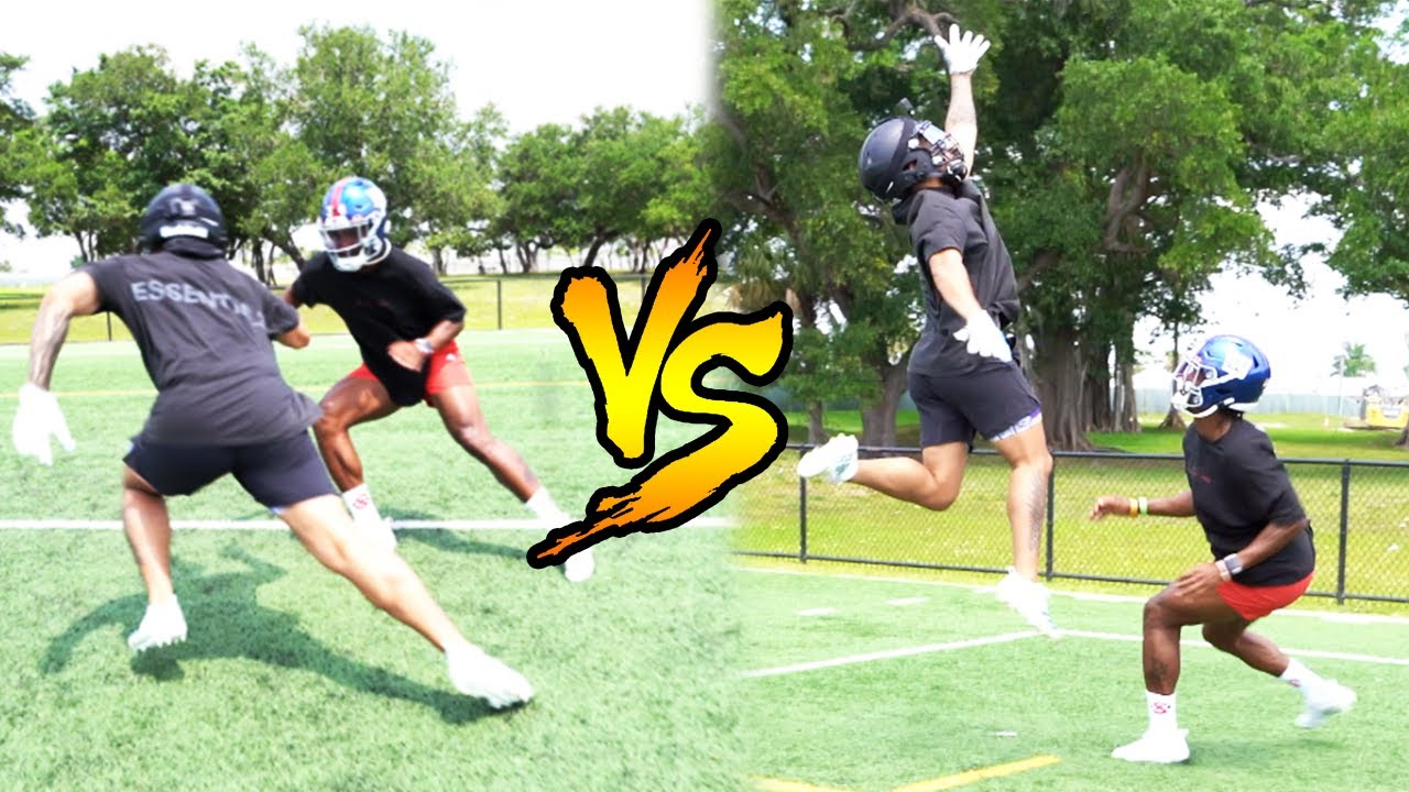 1ON1'S VS NEW ENGLAND PATRIOTS TOP NFL RECRUIT! (EXPOSED)