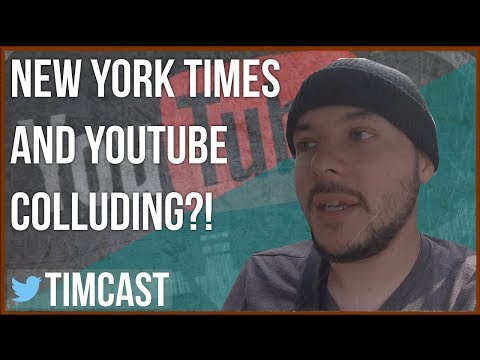NEW YORK TIMES EMPLOYEE COLLUDED WITH YOUTUBE STAFF