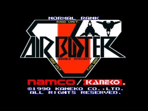 Air Buster - Trouble Specialty Raid Unit 1990 Kaneko Mame Retro Arcade Games