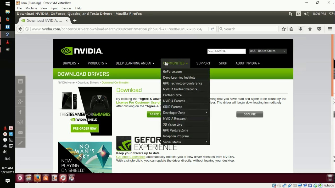 How to Download and Install NVIDIA Graphics Drivers for Linux - How to  install a program  run