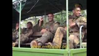 PNGDF Cadets Build Mental & Physical Strength on Kokoda Track