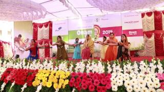 Maanathoru Pontharakam.. Oppana - Confident ATIK Onam Fest 2014