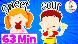 Opposites for Kids | + More Kids Educational Videos, Kid's Learning, Educational Videos for Children