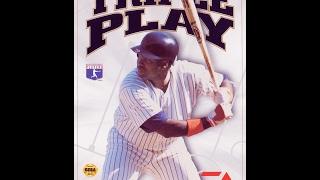 Triple Play Gold Edition - Sega Genesis - HD Gameplay