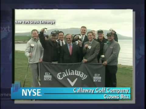 10 February 2010 Callaway Golf Company NYSE Euronext Closing Bell
