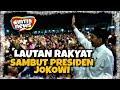PETJAH! LAUTAN Rakyat Karawang Bak SEMUT Sambut Presiden Joko Widodo