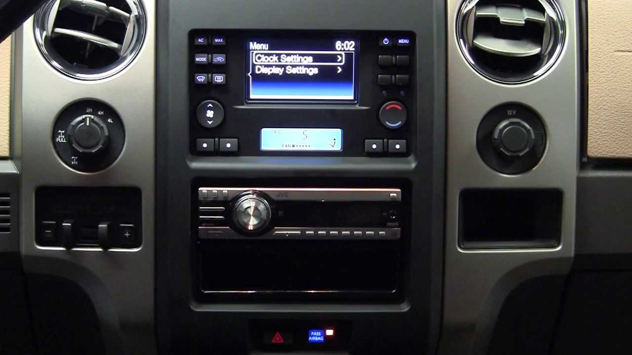 metra ford f 150 2013 2014 stereo dash kit 99 5830b youtube