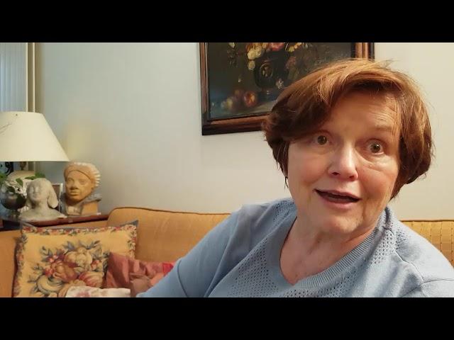Interview d\'Anne Marie atteinte de la maladie à corps de Lewy