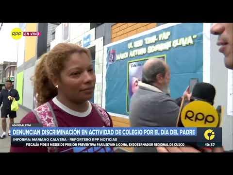 Colegio en Magdalena prohíbe el ingreso a madres por actuación del Día del Padre