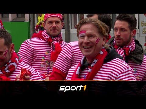 Ausnahmezustand in Köln: Gisdol und Co. im Karneval-Fieber   SPORT1