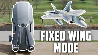 DJI Mavic Pro Fixed Wing Mode Tutorial