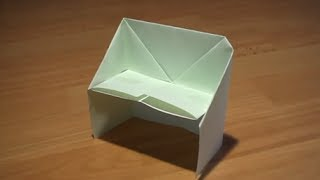 How To Make An Origami Bench