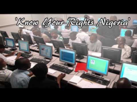 """Easy Steps to downloading """"Know Your Rights Nigeria"""" Mobile App"""
