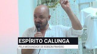 Robson Pinheiro | Palestra com o espírito Calunga | Tema: Felicidade