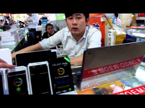 SED Electronics Market (Tablets Market) in Shenzhen walk-thr