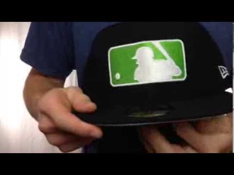 eeeb84f2 MLB '2T-FASHION UMPIRE' Black-Lime Fitted Hat by New Era - YouTube