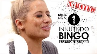 """Mass debating!"": Saffron Barker GETS WET on X-RATED Innuendo Bingo  