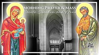 7/26/21 Mon - 7:15am Prayer \u0026 8:00am Mass | Sts. Joachim \u0026 Anne | Fr. Christopher Wetzel, O.P.