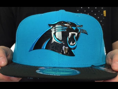Panthers  2015 NFL DRAFT  Blue-Black Fitted Hat by New Era - YouTube de62047fd67
