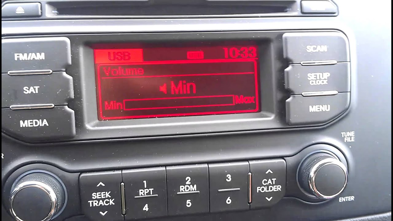 2012 kia sorento radio wiring diagram pics of 2012 kia rio radio wiring the stock stereo of the new 2013 kia rio (my review) - youtube #7