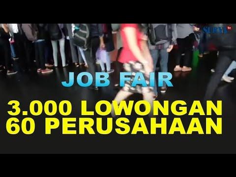Job Fair Disnakernas 3000 pekerjaan Tersedia