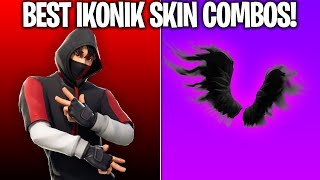 10 BEST 'IKONIK SKIN' COMBOS! (These combos are SUPER RARE!) Fortnite Ikonik Skin