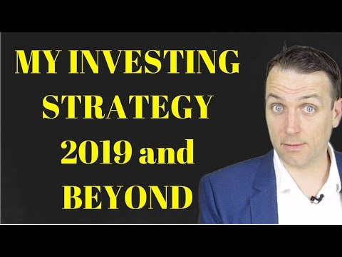 My 2019 stock market investing strategy - value investing core!