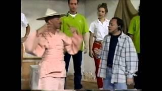 ariel tejada comedia coreografica Brad Pitt 7 años en el tibet
