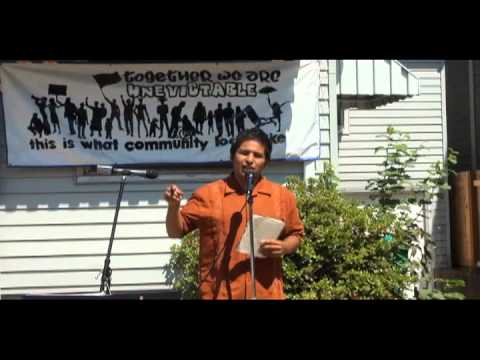 BLOCK PARTY 8.5.12. Portland Oregon - House Reclaim - Take Back the Land