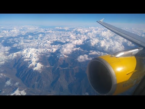 Full flight review Vueling A320 EC-KJD Barcelona to Newcastle Airport
