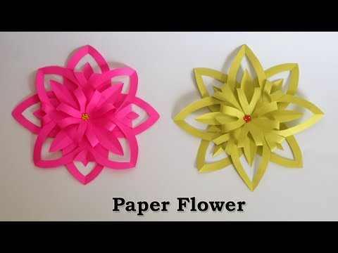Paper Flowers | Easy Paper Crafts | Flower Making with Paper