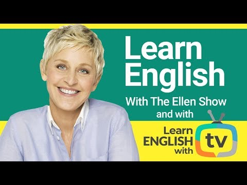 Learn English With The Ellen Show | Vocabulary, Expressions And Conversational English