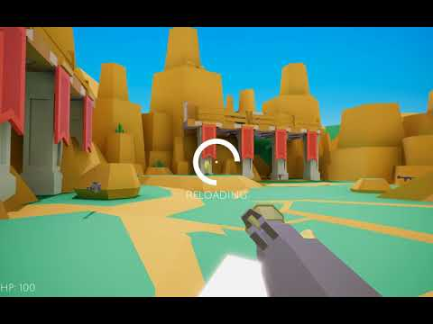 Arena Game - Unity Multiplayer FPS