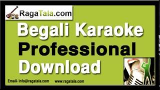 Ami kon pothe je choli - Bangla Karaoke - Manna Dey