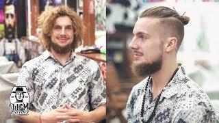 The Undercut Man Bun | Liem Barber Shop's Collection