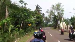 Touring pantai anyar with vespa Mp3