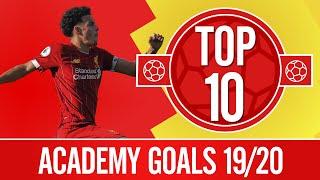 Gambar cover TOP 10: Liverpool's best Academy goals of the season | Jones, Elliott, Williams and more