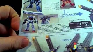 Unboxing Bandai Gundam 1/144 HGBF Kampfer Amazing