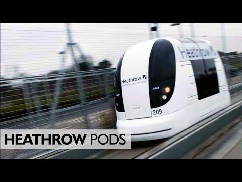 A Ride On The Heathrow Pods