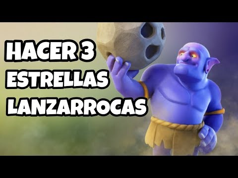 COMO ATACAR CON LANZARROCAS TH10 | Clash Of Clans