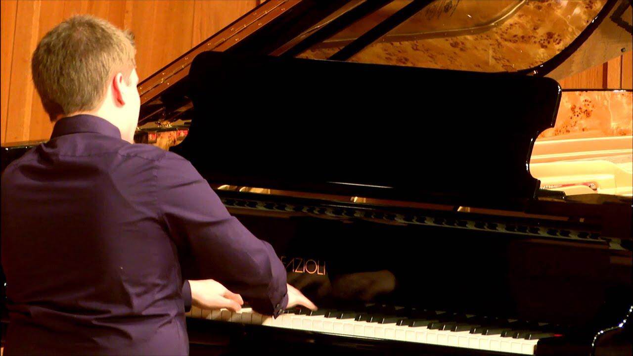 Andrew Voelker - Franz Liszt - Concert Etude No. 3 (Un sospiro)
