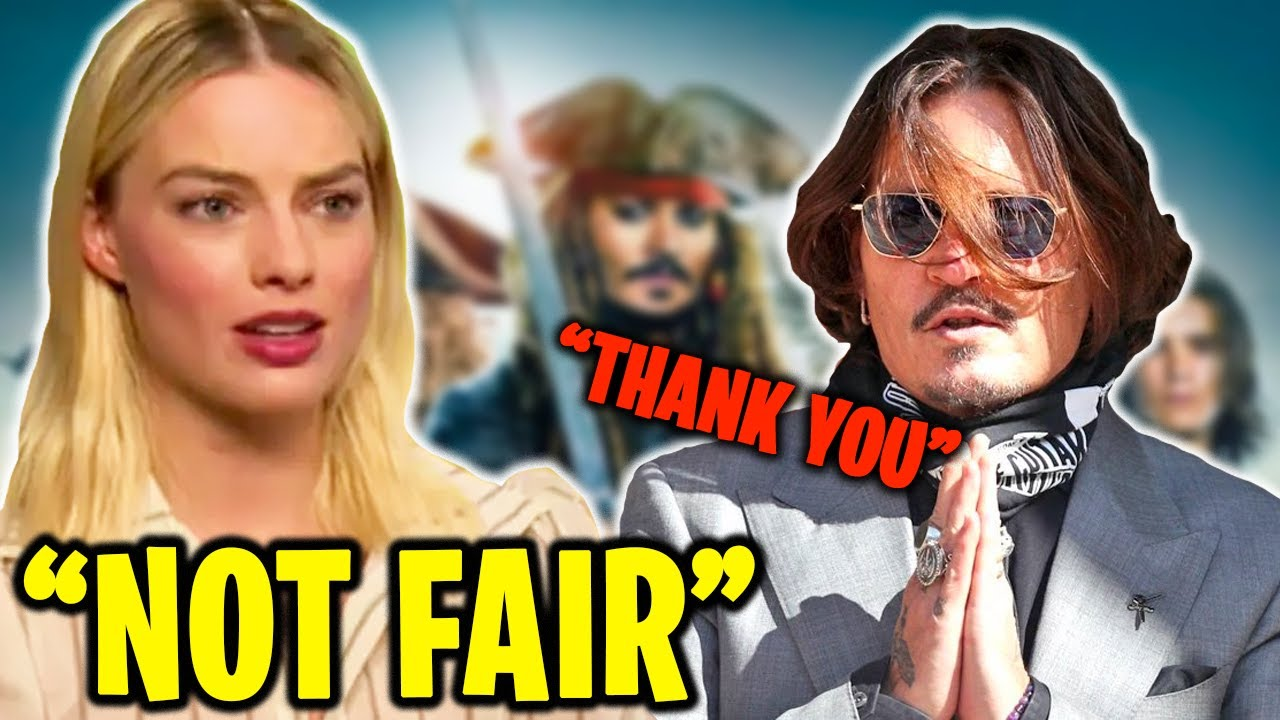 """""""Not Right"""" Margot Robbie Denies Wanting To Replace Johnny Depp in POTC"""
