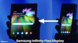 Samsung Infinity flex Display is the Foldable Phone!
