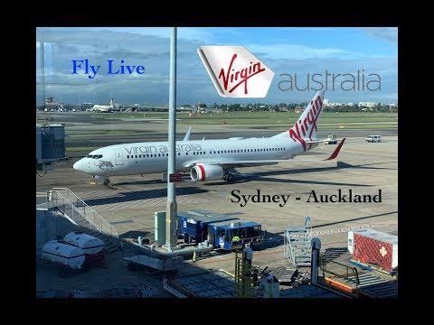 Virgin Australia VA-141 Sydney To Auckland Flight Report (Boing 737-800)