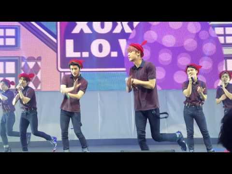 """EXO - """"Peter Pan, XOXO, Lucky, & 3.6.5"""" EXOPLANET#2 EXO'luXion Dallas 160210"""