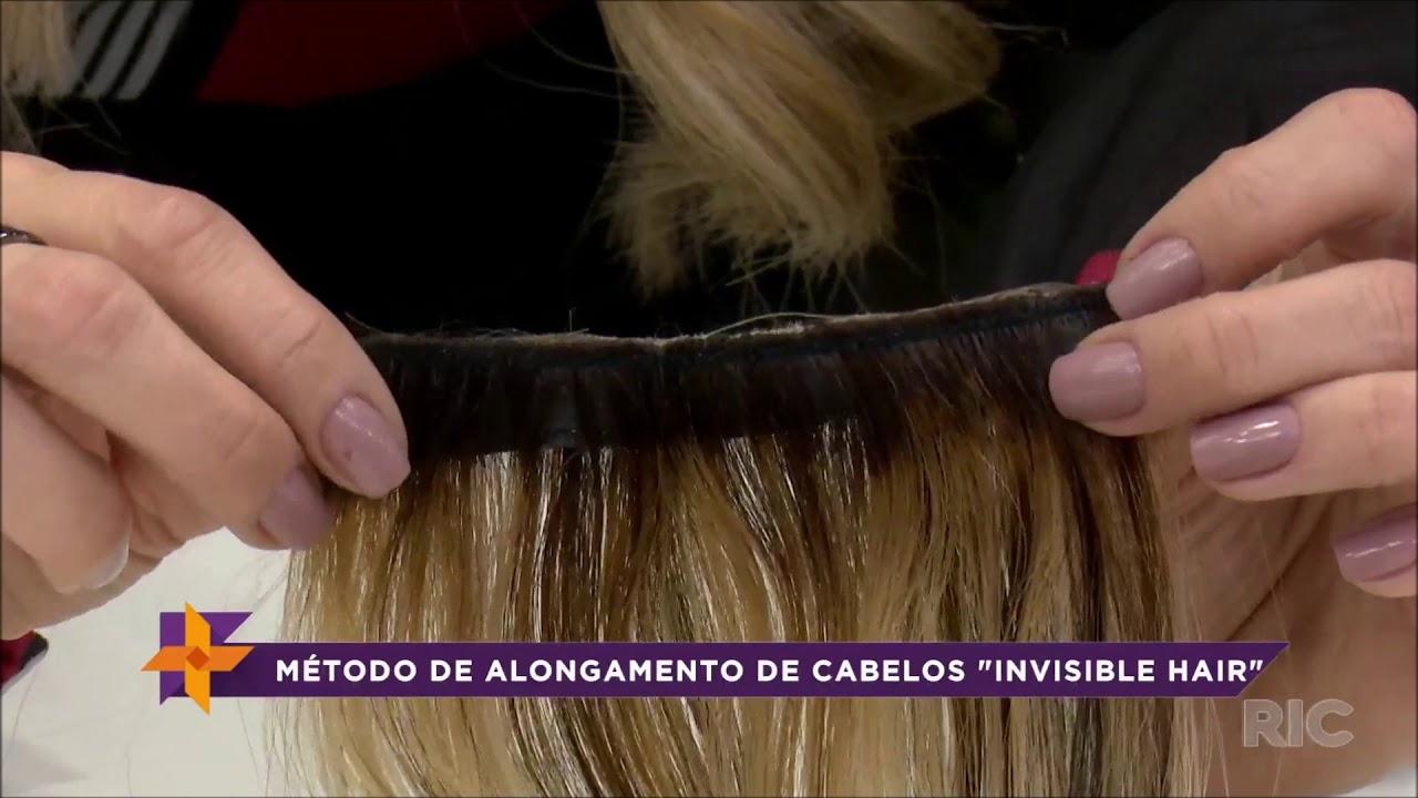"""Conheça mais sobre o método de alongamento de cabelos """"invisible hair"""""""