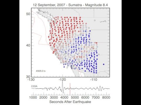 Earthquake Ground Motion Animation 09-12-2007 Sumatra