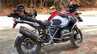 Full Akrapovic Exhaust on R1200GS Adventure by Jet-Hot