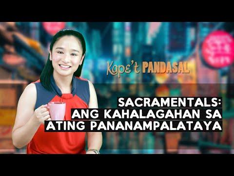 Kape't Pandasal - Sacramentals